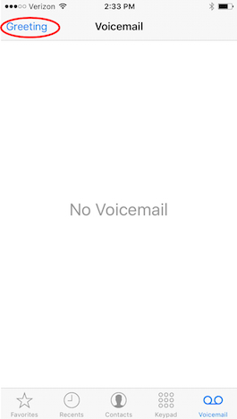 change voicemail greeting on iphone how to change your voicemail greeting on your iphone free 7592